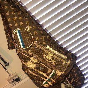 Louis Vuitton purse scarf